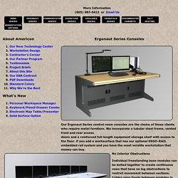 Choose the best Metal Control Room Furniture manufacturer in the USA