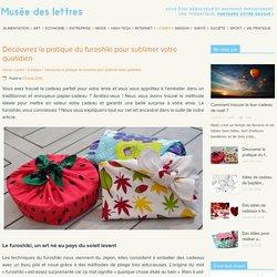 Furoshiki : L'art du pliage de tissu pour emballer vos cadeaux