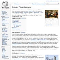Erfurter Fürstenkongress