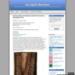 Art Quilt Reviews