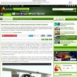 Des pales furtives pour le plus puissant parc éolien français