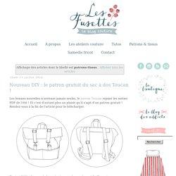 Les Fusettes - Ateliers et patrons de couture à Metz: patrons-tissus