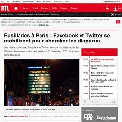 Fusillades à Paris : Facebook et Twitter se mobilisent pour chercher les disparus