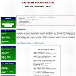 Les fusillés de Châteaubriant - René Guy Cadou
