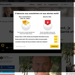 """Olivier Toma : """"Moi président, je fusionnerai les ministères de la Santé et de l'Environnement"""" - 24/11/16"""