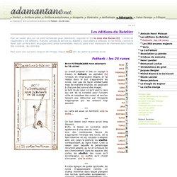 Futhark : les 24 runes