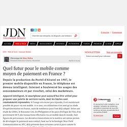 Quel futur pour le mobile comme moyen de paiement en France ?