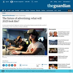 The future of advertising: what will 2025 look like?