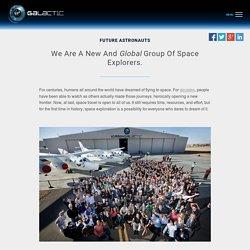 Future Astronauts - Virgin Galactic