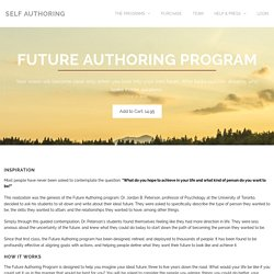 Self Authoring