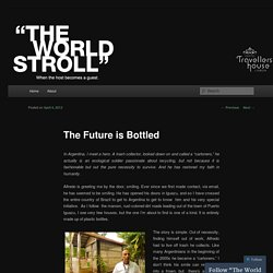 The Future is Bottled