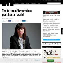 The future of brands in a post-human world