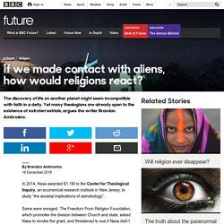 Future - If we made contact with aliens, how would religions react?