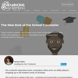 The Future of School Counselors