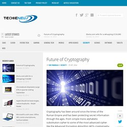 Future of Cryptography
