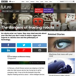 Future - The dangers of trusting robots