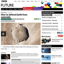 Science & Environment - How to defend Earth from asteroids