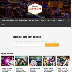 Prof's Las Vegas News Blog: Top 5 Vegas Disasters Archives