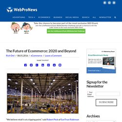 The Future of Ecommerce: 2020 and Beyond