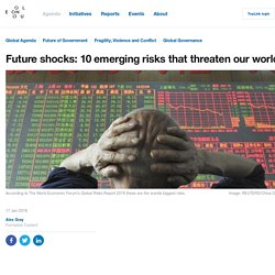 Future shocks: 10 emerging risks that threaten our world