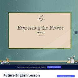 Future English Lesson