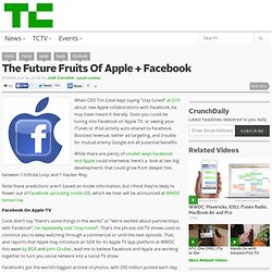 The Future Fruits Of Apple + Facebook