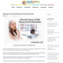 Why the Future of SEO Favours Small Businesses