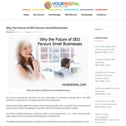Why the Future of SEO Favours Small Businesses - YourSeoPal.com