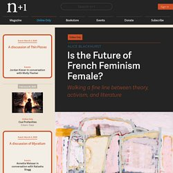 Is the Future of French Feminism Female?