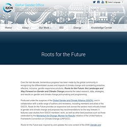 Roots for the Future - Global Gender Office