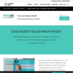 Future Week 2020 – Impulse für Weiterdenker - Future Day