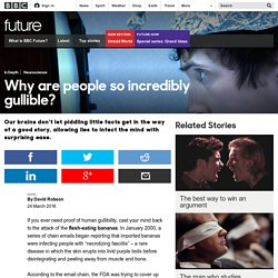 Future - Why are people so incredibly gullible?