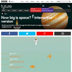 How big is space? – interactive version