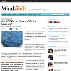Are MOOCs the Future of Online Learning?