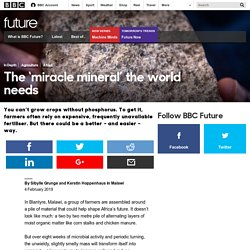 Future - The 'miracle mineral' the world needs