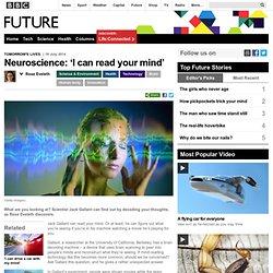 Neuroscience: 'I built a brain decoder'