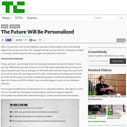 The Future Will Be Personalized