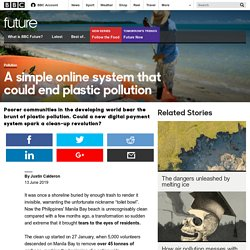 Future - A simple online system that could end plastic pollution