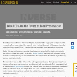 Blue LEDs Are the Future of Food Preservation