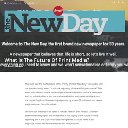 What Is The Future Of Print Media?