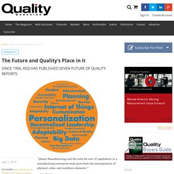 The Future and Quality's Place in it