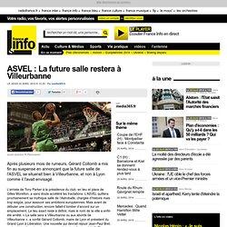 ASVEL : La future salle restera à Villeurbanne