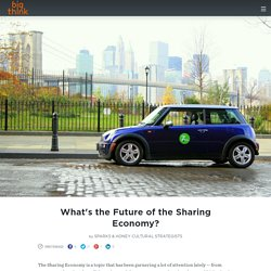What's the Future of the Sharing Economy?