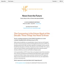 Future Shock is Here: A Future Now Special Edition