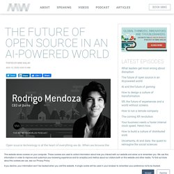 Between Worlds: The future of open source in an AI-powered world - How open source (free and publicly available) code has changed the world and it's importance in the future