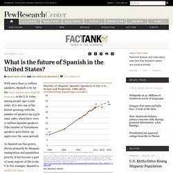 What is the future of Spanish in the United States?