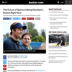 The Future of Sports Is Being Decided in Boston Right Now - Sports