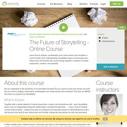 Storytelling Online Course