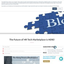 The Future of HR Tech Marketplace is HERE!