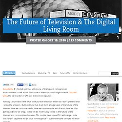 The Future of Television & The Digital Living Room